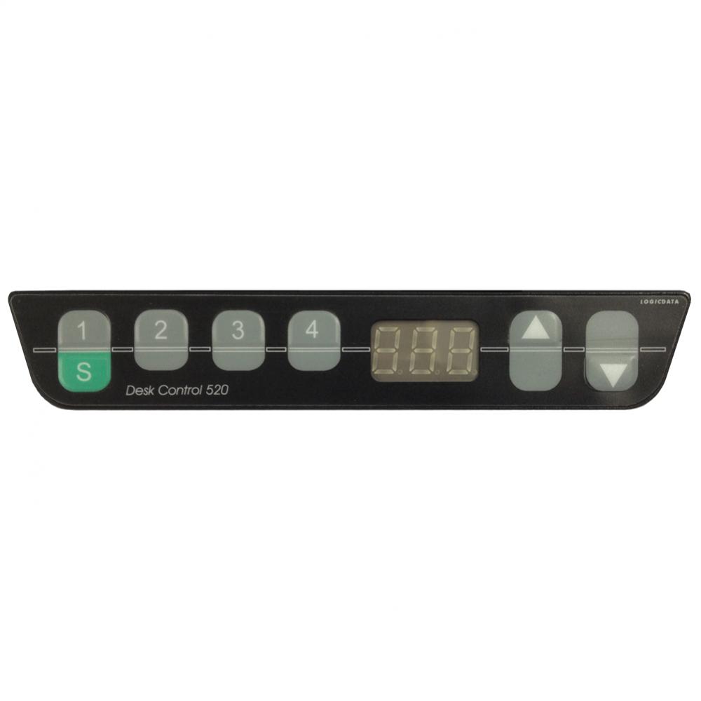Hammerbacher schreibtisch elektrisch h henverstellbar for Schreibtisch xdsm 16