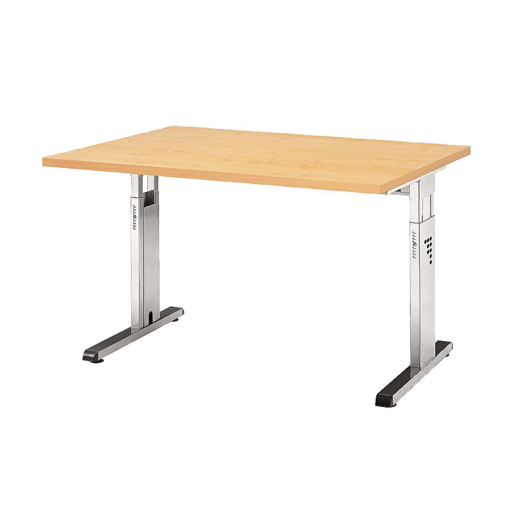 Ergonomischer bürotisch  Hammerbacher Serie O ergonomischer Schreibtisch höhenverstellbar